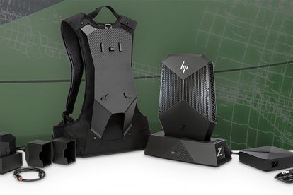 HP Z VR Backpack #1