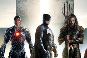 "Rsy Fisher, Ben Affleck, Ezra Miller, Jason Momoa and Gal Gadot star in Zack Snyder's ""Justice League"""