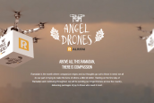 During Ramadan, Al Rifai's Angel Drones deliver packages for families in need