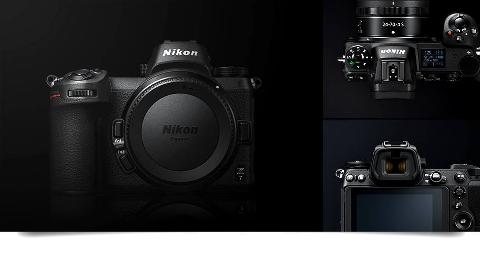 Nikon unveils its first-ever full-frame mirrorless cameras